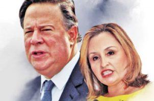 Kenia  Porcell y Juan Carlos Varela mantenían una constante comunicación, según los Varelaleaks.