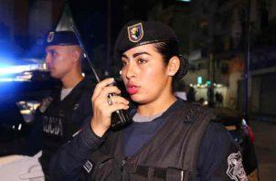 Policía Nacional mantiene más de 3 mil unidades femeninas juramentadas y no juramentadas. Foto/Cortesía