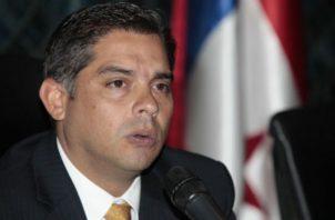 Adolfo Valderrama es miembro del Partido Panameñista.  Foto de archivo