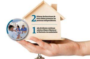 Gean Marc Córdoba, gerente general del BHN, informó que el ingreso para aplicar al préstamo hipotecario debe ser de $500 en adelante.