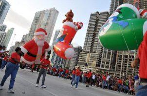 Desfile de Navidad.