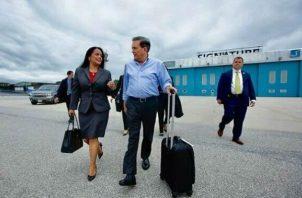 Laurentino Cortizo dijo que durante su gobierno será austero y que reducirán los viajes. Foto: Panamá América.
