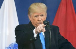 El presidente de Estados Unidos, Donald Trumph ha seguido de cerca la situación política de Bolivia, Nicaragua y Venezuela. FOTO/AP