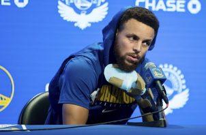 Curry dijo que la lesión lo afectó anímicamente.
