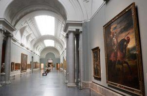 Una de las salas del Museo del Prado. EFE/Juan Carlos Hidalgo