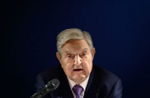 "George Soros dijo que China es un ""enemigo mortal"" de Occidente, pero espera que el nacionalismo se apague. Foto/ Fabrice Coffrini/Agence France-Presse — Getty Images."