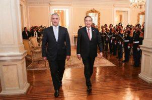 Laurentino Cortizo fue recibido en la Casa de Nariño.