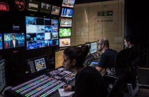 El Kremlin usa su canal de televisión y agencia noticiosa para correr la voz de que está listo para ayudar a África. Foto/ Sergey Ponomarev para The New York Times.