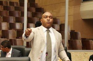 """Jairo """"Bolta"""" Salazar aseguró que interpondrá tres denuncias contra la Policía Nacional. Foto: Panamá América."""