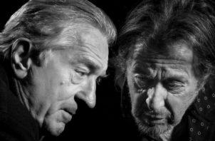 Robert De Niro y Al Pacino se conocieron hace medio siglo en las calles de NY cuando apenas empezaban. Foto/ Philip Montgomery.