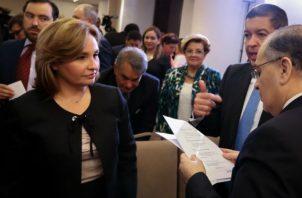 La publicación de los 'Varelaleaks' provocó la renuncia de la procuradora que se hará efectiva a partir de 2020. Foto: Panamá América.