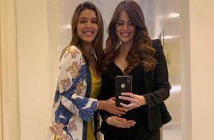 Carolina Castillo y Génesis Arjona.