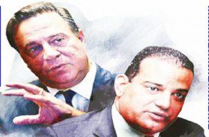 La comprometedoras conversaciones entre el exministro Luis Ernesto Carles y el exmandatario Juan Carlos Varela fueron reveladas por los Varelaleaks. Foto/Epasa