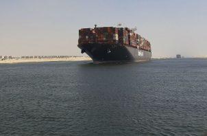 El Canal de Suez es uno de los competidores del Canal de Panamá.