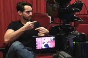Diego de Obaldía, escritor de la obra 1903: El Musical y productor de Quién TV. Juan Carlos Lamboglia