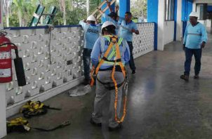 Trabajos en potabilizadora de Chilibre culminan ante de lo previsto. Foto/Cortesía