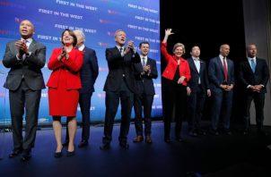En la lista elaborada por Forbes destaca también el apoyo de los más acaudalados al candidato Pete Buttigieg, alcalde de la ciudad South Bend, en el estado de Indiana. FOTO/AP