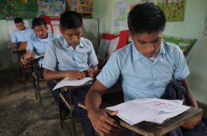 La prueba Crecer 2018 reveló deficiencias en el aprendizaje de los estudiantes en las comarcas.