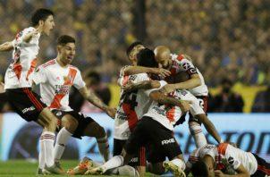 River Plate eliminó a su rival de toda la vida, Boca Juniors Foto AP