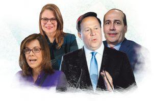 Juan Carlos Varela, por intermedio de Fernando Berguido,Chelle Corró y Lourdes de Obaldía logró el control del diario La Prensa.