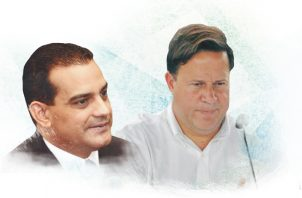 Carles acompañó a Varela en su gobierno durante 51 meses. Infografía de Epasa