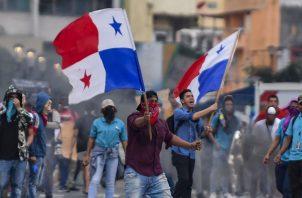 La protesta pacífica saldrá de la escuela República de Venezuela y si dirigirá hacia el palacio de Las Garzas. Foto: Panamá América.
