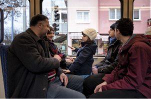 Miembros de la familia Kodaimi han batallado para adaptarse a la sociedad alemana pese a una cálida bienvenida al llegar de Siria en 2016. Foto/ Laetitia Vancon.