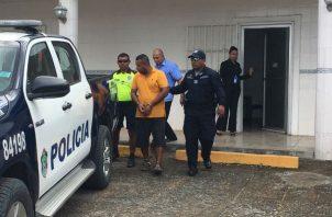 Roque Rodríguez estará detenido seis meses mientras duren las investigaciones. Foto: Melquíades Vásquez.