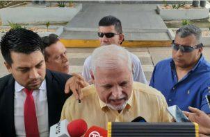 El expresidente Ricardo Martinelli interpuso querella penal. Foto/ Víctor Arosemena