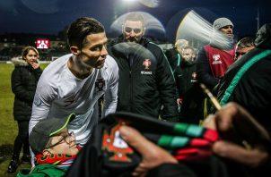 Ronaldo no está al 100%.