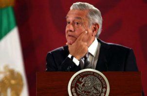 El presidente de México sostuvo que el Gobierno tendrá dinero en 2020 para financiar las pensiones para adultos mayores. Foto: EFE.