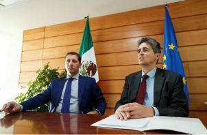 Jean-Pierre Bou, encargado de Negocios de la delegación de la Unión Europea en México. Foto/EFE