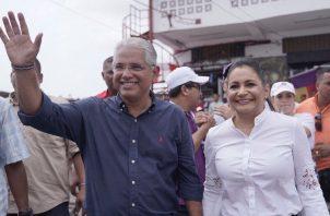 José Isabel Blandón se alzó con el cargo de presidente del Partido Panameñista por un periodo de dos años.