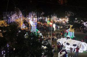 Según la Alcaldía de Panamá se decorarán 22 parques en todo el distrito capital. Foto: Panamá América.