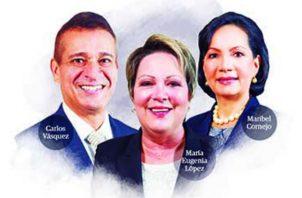 Tres mujeres tendrá la Corte Suprema de Justicia. Ilustración de Epasa