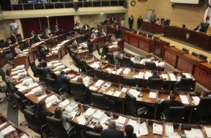 Hasta se pidió que el proyecto sea bajado a primer debate. Foto de Víctor Arosemena