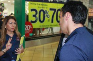 La Acodeco verificará ventas especiales, ofertas, rebajas y publicidad externa en los comercios.