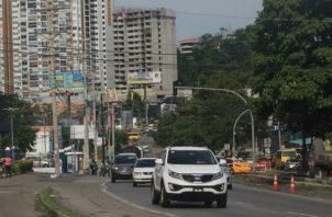 Autoridades buscan ampliar de cuatro a seis carriles en la vía Ricardo J. Alfaro/Archivo