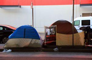 Los residentes de California toman acción para evitar que gente duerma en las calles. En San Francisco. Foto/ Jim Wilson.