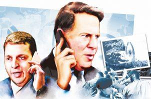 El exministro de Gobierno, Carlos Rubio, y el expresidente Juan Carlos Varela, manejaban de manera directa el encierro al que fue sometido el exmandatario Ricardo Martinelli, en el penal de El Renacer, según los Varelaleaks.
