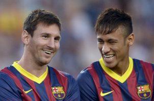 Leo Messi presionó para que Neymar regresara al Barcelona Foto AP