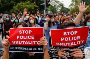 Después de más de cinco meses de protestas contra el gobierno en Hong Kong, el riesgo se está volviendo mortal. Foto: EFE/EPA/FAZRY ISMAIL