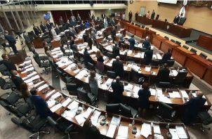 Pleno de la Asamblea Nacional. Foto/ Víctor Arosemena