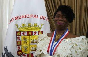 Alina Mapp Reid lleva 45 años dedicada a la educación panameña./Cortesía