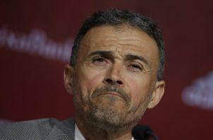 Luis Enrique Martínez. Foto:AP