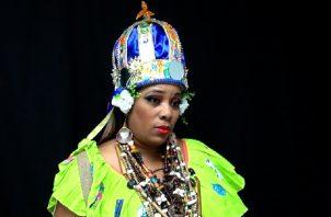 Eneida Reyes Morales, Reina Congo.  Foto: Juan Carlos Lamboglia
