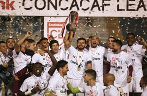 Saprissa de Costa Rica es el campeón de la Liga Concacaf. Foto:EFE