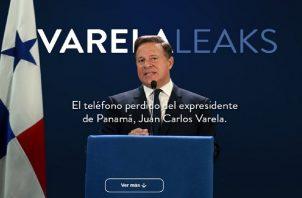 En los 'varelaleaks' se publicaron conversaciones vía whatsapp entre el exmandatario y la procuradora Kenia Porcell. Foto: Panamá América.