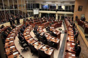 Los cinco diputados del PRD suman 62 ausencias durante los primeros cuatro meses de legislatura del nuevo gobierno. Foto: Panamá América.