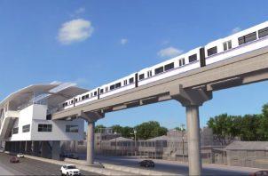 Si se cumple con la expectativa de los encargados del metro, la Línea 3 estaría lista para mediados o finales del año 2024. Cortesía
